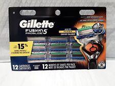 Gillette Fusion 5 Proglide Razor Blades 12 Replacement Cartridges Blades SEALED