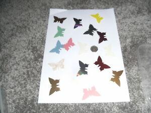 die cut Butterflies Card Making Toppers Scrapbooking Embellishments