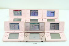 Fully Tested! Lot of 6 Nintendo DS Lite Console System Pink NDSL #3363
