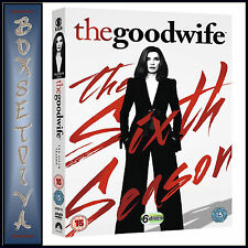 THE GOOD WIFE - COMPLETE SEASON 6 ***BRAND NEW DVD***