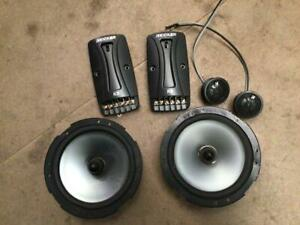 "Kicker 11KS62 6.5"" inch 2 way component speaker pair 75 watts RMS"
