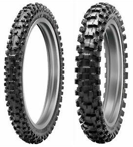 New Dunlop 80/100-21 & 110/100-18 MX53 Off-Road, MX, Trail Tire Set