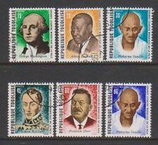 Togo - 1969, Leaders of World Peace set - CTO - SG 707/12