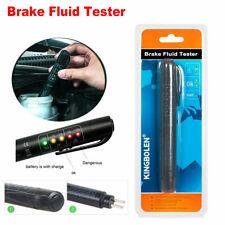 Brake Fluid Liquid Oil Tester Pen 5 LED Indicator Car Testing-Tool for DOT3/DOT4