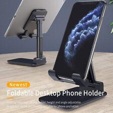 Universal Foldable Desktop Desk Stand Holder Mount Kit For Cell Phone and Tablet