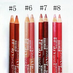 Matte Long Lasting Pencil Waterproof Lip Stain Double Color Lip Liner Lipstick