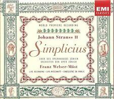 Johann Strauss II - Simplicius [Box Set]
