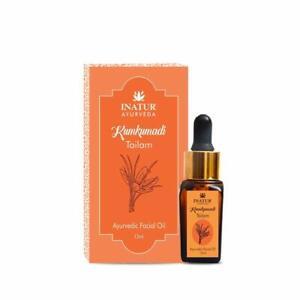 INATUR Kumkumadi Non Greasy Anti-Agening Facial Beauty Oil, 12ml