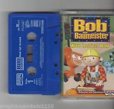 MC - Bob der Baumeister -Alle helfen Bob ! - Europa Mini Kassette