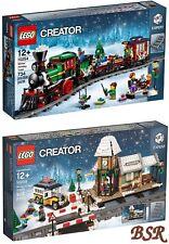 LEGO® Creator / Expert: 10254 & 10259 Weihnachtszug & Bahnhof & 0.-€ Versand NEU