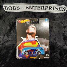 Hot Wheels Pop Culture Alex Ross DC Universe Superman Haulin' Gas  ec-465