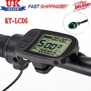 Ebike KT-LCD5 LCD Display Meter Panel for KT Series Controllers 24V/36V/48V