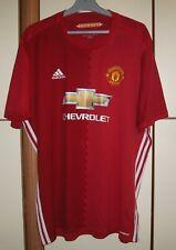 Manchester United 2016 - 2017 Home football shirt jersey Adidas size 2XL