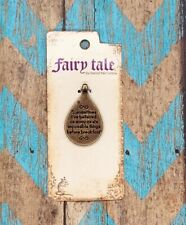 Fairy Tale Alice in Wonderland Necklace Charm