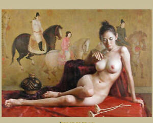 Christmas Gift High-quality Modern Oil Painting,Classic sexy woman