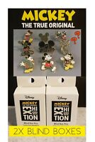 (2X)MICKEY MOUSE TRUE ORIGINAL BLIND BOX PINS-NYC 90TH ANNIVERSARY EXHIBITION