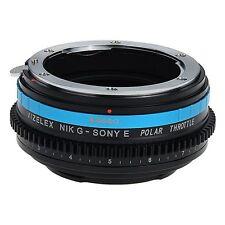 Fotodiox Objektivadapter Vizelex Polar Nikon Lens to Sony Alpha E-Mount