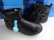 NIB STRIDE RITE Girls Motorcycle Boots Made 2 Play Winnie shoes 2 M $45