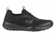 NEW Sketchers Mens Slip-on Tennis Shoes Black Athletic Sneakers w/ Memory Foam