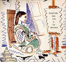MAESTRI DEL XIX E XX SECOLO - ED, MARSILIO, 1975