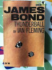 Thunderball - James Bond - Ian Fleming - Pan Books