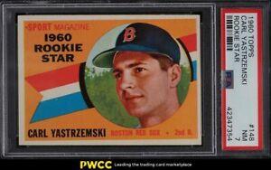 1960 Topps Carl Yastrzemski ROOKIE RC #148 PSA 7 NRMT