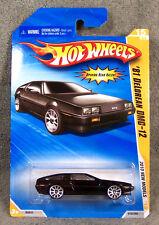 HOT WHEELS ~ 2010 NEW MODELS ~ 1981 DeLOREAN DMC-12 ~ BLACK