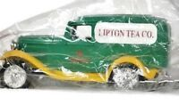 ERTL 1932 Ford Lipton Tea Co Delivery Truck Bank Sir Thomas Lipton Founder New