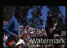 1968  Photo slide The Chambers Brothers in concert Berkeley CA #2