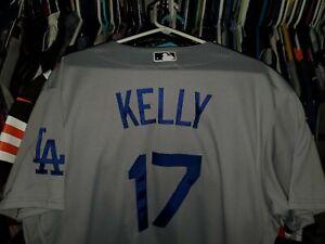 JOE KELLY LOS ANGELES DODGERS GREY NIKE MLB AUTHENTIC JERSEY SIZE 48