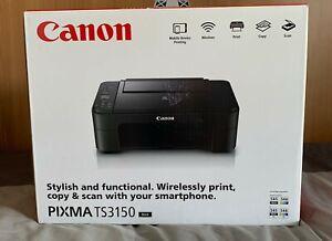 Canon PIXMA TS3150 Stampante Inkjet 3 in 1 a Colori - Nero