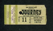 1978 Journey Van Halen Montrose Concert Ticket Stub Dayton Don't Stop Believin