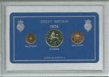 1974 Vintage Coin Set 44th Birthday Birth Year Present Wedding Anniversary Gift
