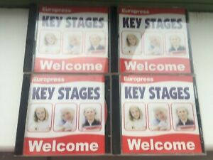 4 Key Stage 2-3 PC CD Roms Age 9 -11 Science, Maths and English Europress 11-14