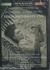 SEALED - Frida, Naturaleza Viva Con Ofelia Medina y Salvador Sanchez - BRAND NEW