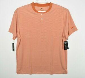 New Nike Dry Vapor Textured Golf Blade Polo Shirt CI7911-486 Standard Fit XL