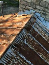 Metal Tin Rustic Weathered Reclaimed Farmhouse Ridge Cap Trim Antique Vintage