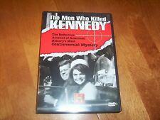 THE MEN WHO KILLED KENNEDY Assassination Mysteries JFK HISTORY CHANNEL 2 DVD SET