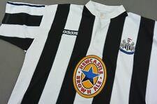1995-97 adidas Newcastle United Home Shirt No. 9 FERDINAND Alan Shearer SIZE XL