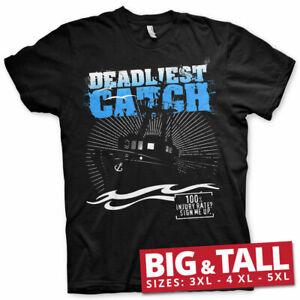 Officially Licensed Deadliest Catch BIG & TALL 3XL, 4XL, 5XL Men's T-Shirt