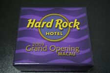 Hard Rock Cafe Pins -  2009 Macau Hotel Grand Opening 3 pin Set, Limited Edition