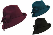 Art Deco Felt Vintage Hats for Women