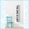 Personalised Child Height Bedroom Wall Art Mural Decal Sticker UK Seller