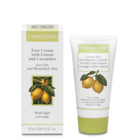 L'erbolario Face Cream With Lemon&Cucumber For Oily&Blemished Skin 50ml