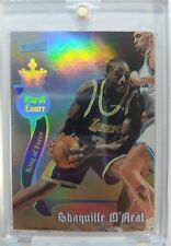 1998-99 TSC Shaquille O'Neal ROYAL COURT #RC7 Refractor-Like RARE 90's INSERT