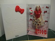 Barbie Hello Kitty Barbie Doll with Sketch Signature Collection