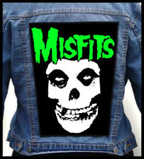MISFITS --- Giant Backpatch Back Patch / Danzig Samhain Dead Kennedys Anti-Flag