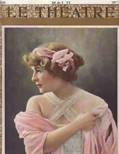 1908 Le Theatre May 14 - Suzanne Carlix; les Pierrots; Simone; Rachel Launay