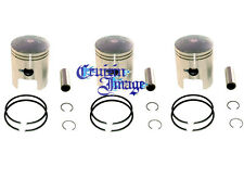 72-77 Suzuki GT380 1.0mm Oversize Pistons Set 3 Pistons Include 10-GT380PS-2