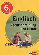 ENGLISCH + Rechtschreibung + Diktate + 6. Schuljahr +